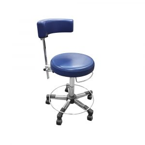 Work stool back rest