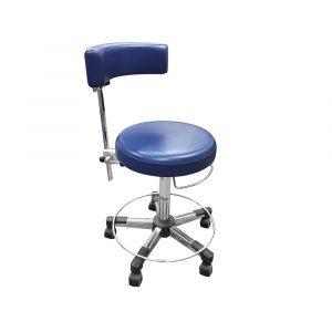 Work stool back rest