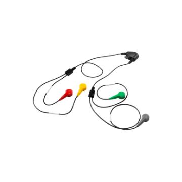 5 elektrode kabel set