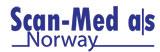 Scan-Med as logo